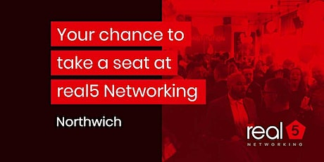 real5 Networking Northwich tickets