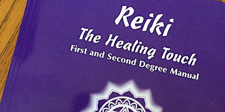 Online Usui Reiki course - Levels I&II billets