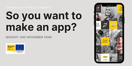 So you want to make an app? tickets