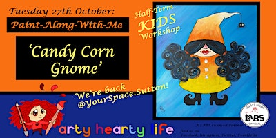 Candy Corn Gnome Paint-Along-With-Me @ YourSpace