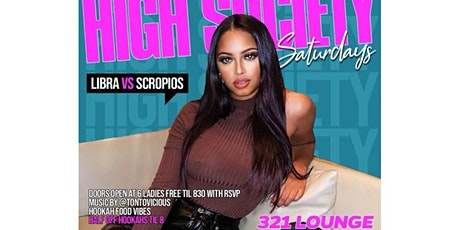 High Society Saturdays Uptown @ 321 tickets