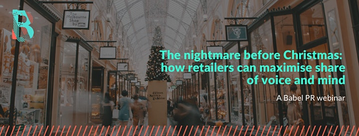 How retailers can maximise share of voice and mind in the festive period image