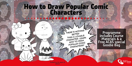 How to Draw Popular Comic Characters Art Workshop