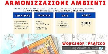 Workshop | Armonizzazione Ambienti biglietti
