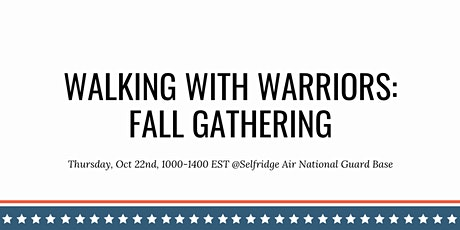 Walking With Warriors tickets
