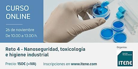 Reto 4 - Nanoseguridad, toxicología e higiene industrial entradas