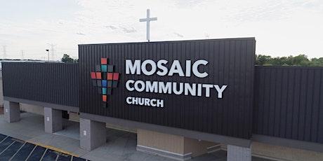 Mosaic Community Church - Worship Service (November 1st, 2020) tickets