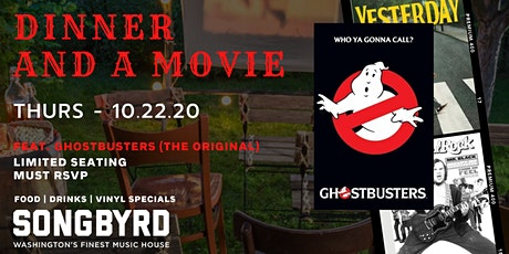 Dinner and a Movie Feat. Ghostbusters (The Original) tickets