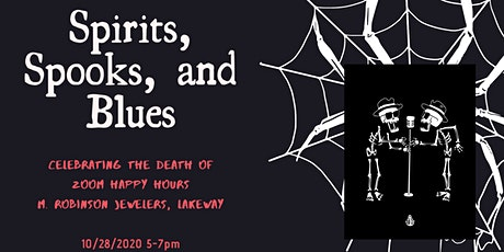 Spirits, Spooks, and Blues tickets