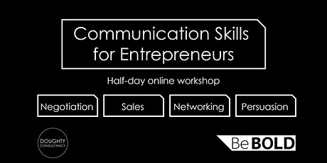 Half day Communication Skills for Entrepreneurs tickets