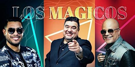 Los Magicos Neguito Borjas, Nelson Arrieta y Ronald Borjas en Utah entradas