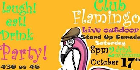 FREE  Comedy Show @ Club Flamingo! tickets