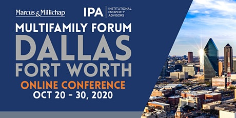 Marcus and Millichap / IPA Multifamily Online Conference: Dallas-Fort Worth tickets