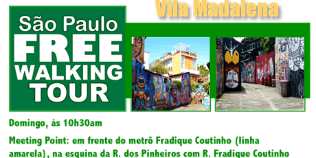 SP Free Walking Tour - VILA MADALENA (Português) tickets