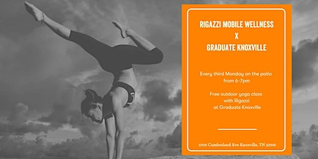 Rigazzi Mobile Wellness x Graduate Knoxville tickets