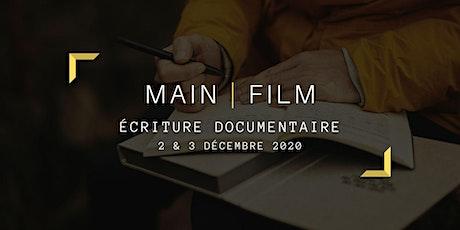 Écriture documentaire | En ligne biglietti