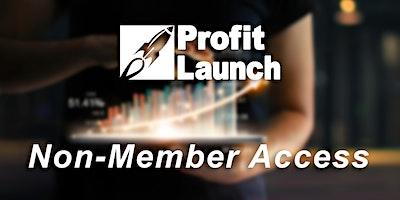Profit Launch Business Planning | Jan. 13-15 | Non-Member Access