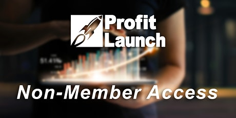 Profit Launch Business Planning | Jan. 13-15 | Non-Member Access tickets