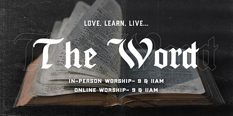 11.1.20 | 9:00am In-Person Sunday Service tickets
