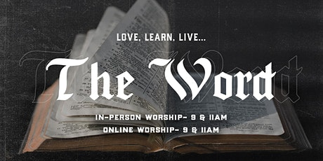 11.1.20 | 11:00am In-Person Sunday Service tickets