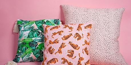 CraftJam x Spoonflower Present: Sew a Throw Pillow tickets