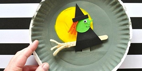 Witch on a broom Craft (all ages) with CAROL tickets