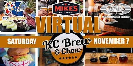 Virtual KC Brew & Chew tickets