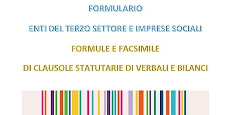 e-book Formulario Enti del Terzo Settore - Fac-simile statuti bilanci biglietti