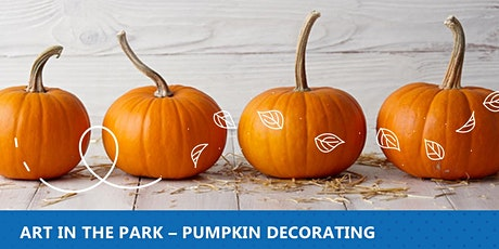 Art in the Park- Pumpkin decorating tickets