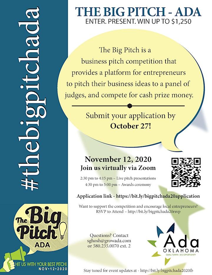 The Big Pitch Ada, 2020 image