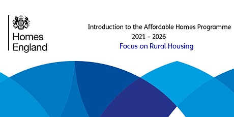 Focus on rural Housing  - Affordable Homes Programme -  2021-2026 tickets