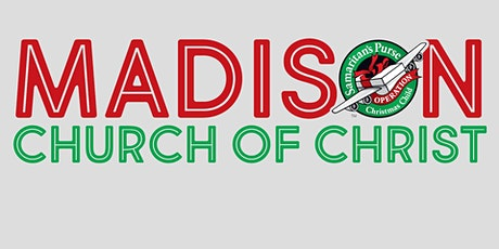 Shoebox Packing at Madison Church tickets