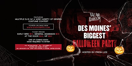 Des Moines' Biggest Halloween Party tickets