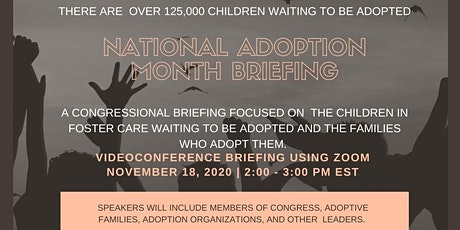 National Adoption Month Briefing tickets