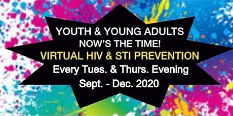 Virtual HIV and STI Prevention for Youth & Teens tickets
