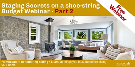 Staging Secrets on a Shoe-String Budget - Part 2 tickets