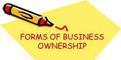 Forms of Ownership presented by Internal Revenue Service tickets