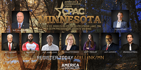 CPAC Minnesota (and Presidential Debate) tickets