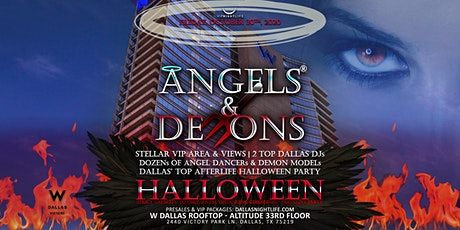 Angels & Demons Halloween Edition - Sky High Fridays tickets