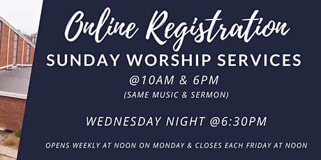 Southside Church Services:  Sunday  October 25  &  Wednesday October 28 tickets