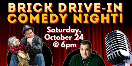 Brick Drive-In Comedy Night tickets