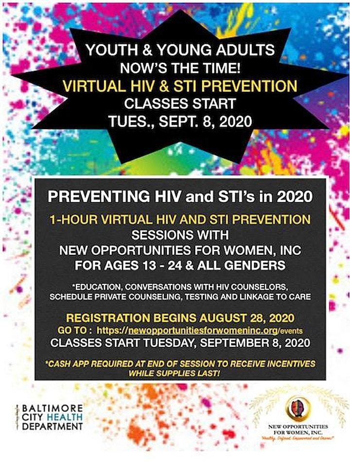 Virtual HIV and STI Prevention for Youth & Teens image