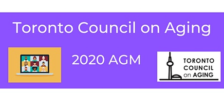 Toronto Council on Aging Annual General Meeting 2020 tickets