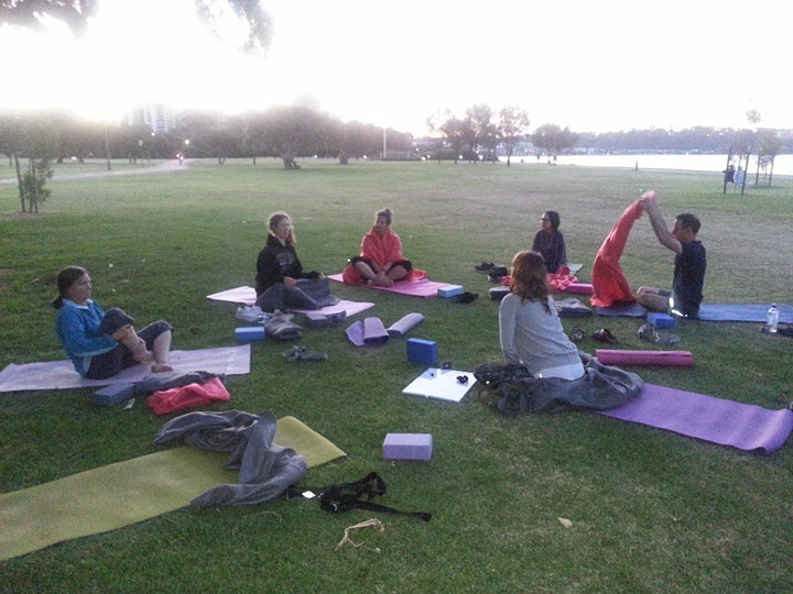 Foundations of Yoga by the River image
