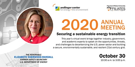 2020 Annual Meeting - Andlinger Center for Energy and the Environment tickets