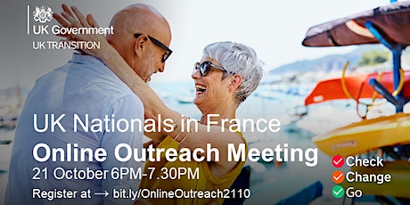British Embassy - Online Outreach Meeting - 21 October 2020 tickets