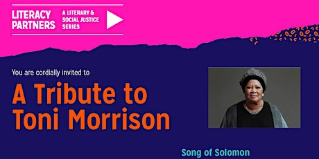 A Tribute to Toni Morrison: Song of Solomon Marathon Reading tickets