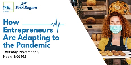 YRBiz Recovery Series- How Entrepreneurs Are Adapting to the Pandemic tickets