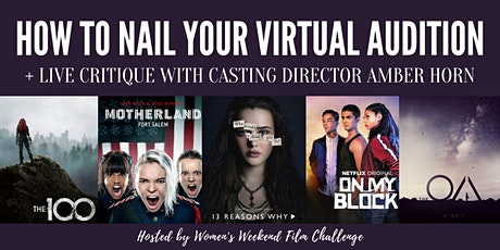 How to nail your virtual audition with casting director Amber Horn tickets