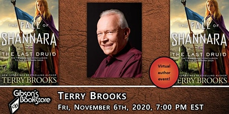 Terry Brooks, THE LAST DRUID. With Robert V.S. Redick tickets
